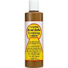 Original Amazing Maui Babe Browning Lotion Natural Dark Outdoor Tannning NEW 8OZ