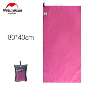 Pink  Microfiber Quick-drying Sport Towel Travel Swimming Yoga Beach Towel Camp