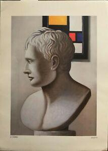 Alessandro Paternò serigrafia Busto  67x48 firmata numerata perfetta