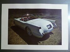 1953 Chevrolet Corvette Convertible Print, Picture, Poster RARE!! Awesome L@@K