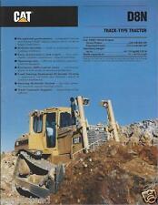 Equipment Brochure - Caterpillar - D8N - Track-Type Tractor - 1993 (E2392)