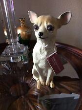 New listing Universal Statuary 10� Resin Chihuahua Dog Statue Figure