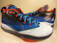 Nike Air Jordan CP3.VII Blue Dark Blue White Black Red SZ 9 (616805-405)