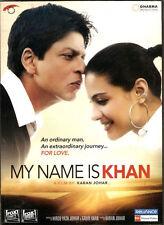 MY NAME IS KHAN (SHAHRUKH KHAN, KAJOL) - BOLLYWOOD 2 DISC DVD