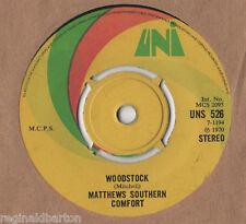 "Matthews Southern Comfort - Woodstock 7"" Single 1970"