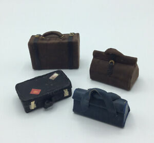 Dolls House Suitcases And Bags