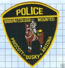 "Police Patch  - Arizona - Yavapai College Prescot ""Dusky"""