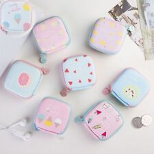 Coin Purse Jewelry Container Earphone Headphone Storage Case Memory Card Box