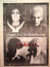 SIOUXSIE and Banshees Juju 1991 UK Poster size Press ADVERT 16x12""