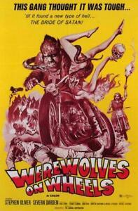 Werewolves on Wheels Movie POSTER 11 x 17 Stephen Oliver, Severn Darden, B