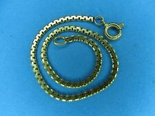 Boston Link 14K Yellow Gold Bracelet 6.5 Inches Long  2 Millimeter Wide