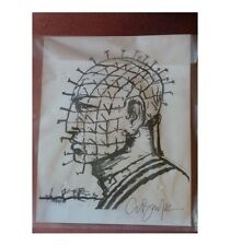 Hellraiser Pinhead Print With Clive Barker Signature