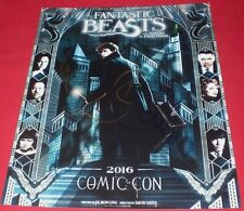 FANTASTIC BEASTS CAST SIGNED COMIC CON 11X14 PHOTO BY 4 AUTOGRAPH COA REDMAYNE +