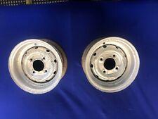 "Classic Mini Cooper S 4.5"" X10"" Reverse Rim Steel Wheels X 2"