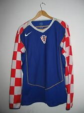 Croatia team nation football soccer jersey Platini 10 HNS Nike XL Authentic RARE