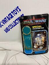 Star Wars Kenner Vintage 1985 POTF 92 Back R2-D2 Pop Up Saber Cardback & Bubble
