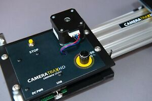 Camera Slider 1.2m Cameratrax programmable and totally quiet with 'bounce'