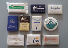 Lotto 10 saponettine da collezione Hotel e varie