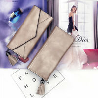 Women Clutch Leather Long Wallet Bag Handbag Card Holder Phone Bags Case Purse