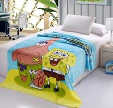 spongebob fleece uniex Blankets warm quilt warm nap bed blanket 200x230cm