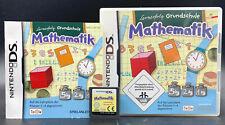 Spiel: LERNERFOLG GRUNDSCHULE MATHEMATIK für Nintendo DS + Lite + Dsi + XL + 3DS