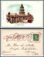 CALIFORNIA Postcard - San Francisco, City Hall F1
