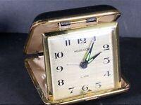 Vintage Heirloom Travel Alarm Clock