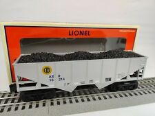 Lionel O Gauge 6-16487 Alaska ARR 16214 2 Bay Hopper in Box - Mint C-9