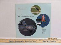 1963 Oldsmobile Dealership Sales Brochure F-85 Cutlass Starfire Jetfire 88 98