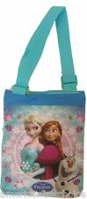 Disney Frozen Elsa and Anna Crossbody Bag Zippered Handbag Tote Bag-Brand New!v1