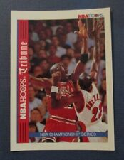 MICHAEL JORDAN Chicago BULLS 1992-93 NBA HOOPS Basketball CARD #TR1