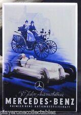 "Mercedes-Benz Vintage Advertising Poster - 2"" X 3"" Fridge / Locker Magnet."