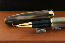 Danitrio Brown Buffalo Horn Classic Rollerball Pen - Display Model