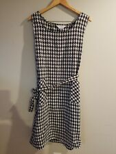 Blair boutique Dress Sz 18 Houndstooth Print Beautiful In Good Condition!