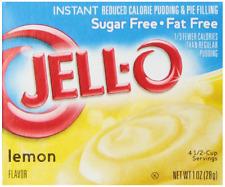 Jell-O Instant Sugar-Free Lemon Pudding & Pie Filling, 1 oz Box Pack of 6
