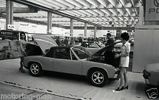 Porsche 914 german motor show concessionnaire photo foto rare