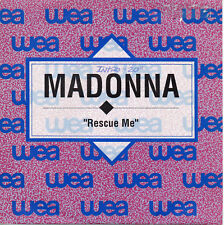 "MADONNA ""RESCUE ME"" RARE SPANISH PROMOTIONAL 7""VINYL / INMACULATE COLLECTION"