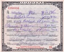 Prohibition Prescription Whisky Pharmacy Doctor Billy DeLaney Bar Saint Louis MO