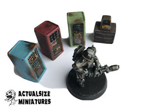 Sci-fi Wargame Computers Consoles Scenery 28-35mm Fallout Warhammer Apocalypse