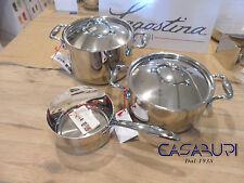Lagostina Batteria Pentole Accademia Lagofusion® 3 pz - Cookware Set Lagostina