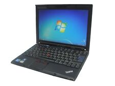 Lenovo Thinkpad X201 Laptop Core i5 2.4GHz CHEAP 4GB RAM Warranty Windows 7