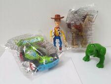 Disney Toy Story 2000 Mcdonalds Toy Figures Complete Set Rex Bullseye Woody Car