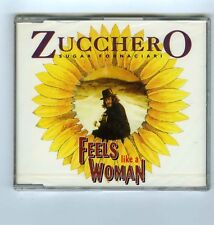MAXI CD SINGLE PROMO (NEW) ZUCCHERO FEELS LIKE A WOMAN