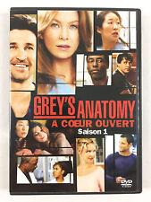 Coffret DVD Grey's Anatomy L'INTEGRALE De La Saison 1