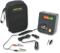 STOP GO INTERNATIONAL MINI AIR COMPRESSOR WITH CONNECTORS motorcycle atv RCP