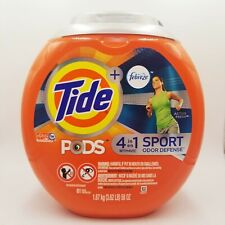 Tide PODS 4-in-1 Sport Odor Defense Laundry Detergent Pacs 61 ct