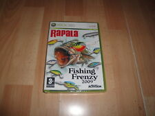 Pal version Microsoft Xbox 360 Rapala Fishing Frenzy