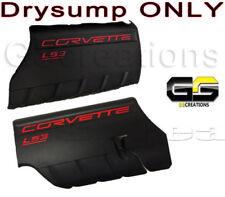 LS3 GM Corvette DRYSUMP Engine Covers 2008-2010 Fuel Rail LS-3 6.2L Left Right