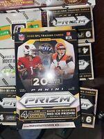 2020 PANINI PRIZM FOOTBALL 20 Card Hanger Box, TUA BURROW HERBERT🔥🔥🔥