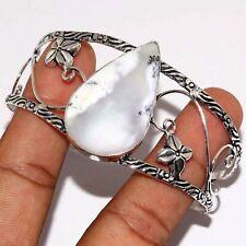Silver Plated Bangle Va-9227 Dendritic Opal 925